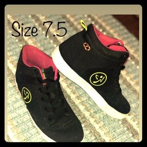 Shoes - Zumba high top shoes, very comfortable